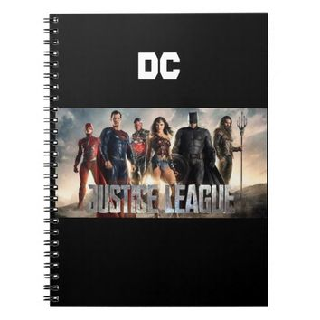 Notebook (80 Pages B&W) - Justice league