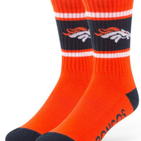 Denver Broncos Men's Orange Duster 47 Sports Socks, 47 Brand