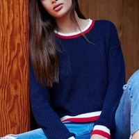 LA Hearts Stripe Ribbed Pullover Sweater at PacSun.com