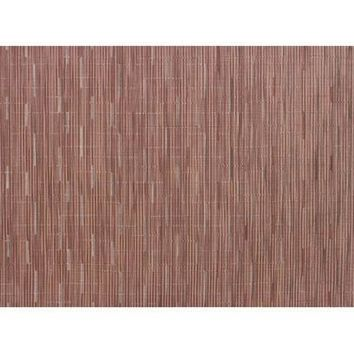 CHILEWICH Bamboo Rectangular Placemats S/4  | Brick