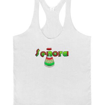 Senora Poncho Mens String Tank Top