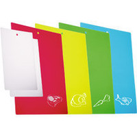 Progressive Color-Coded Chopping Mats, Set of 6