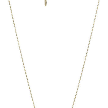 "Kensie ""Hashtag Bar Color"" Gold-Plated Coral with Pave Bar Pendant Necklace, 19"""