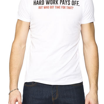 Guys 'Hard Work Pays off' Graphic Tee