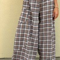 Vivian Pant - Campbell Plaid by Tulip