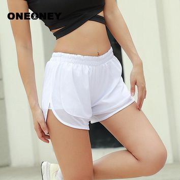 New sports shorts women sportwear summer quick-dry breathing running gym cycling fitness double-layer Safe underpants for yoga