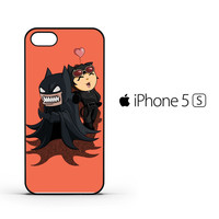 Batman And Catwoman Funny Face Z0381 iPhone 5 | 5S Case