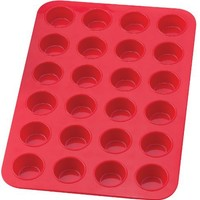 Mrs. Anderson's Baking Silicone 24-Cup M