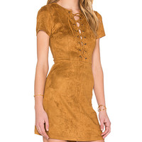 Love Child Dress in Camel