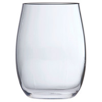 D&V Poolside Stemless Blanc Glasses, Set of 6, Wine Glasses