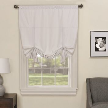 Columbia Blackout Window Tie-Up Shade
