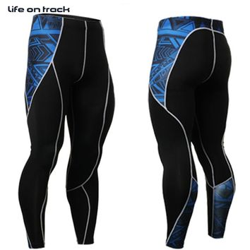 Life On Track Long Pants Top Design Printing For Men's Running Activities Cycling Transparants Bottoms Exercise S-4XL