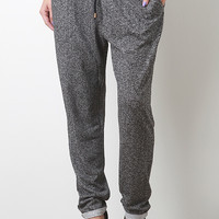 Speckled Drawstring Pants