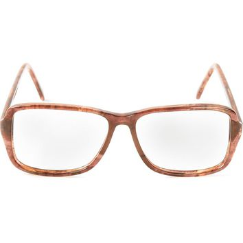 Yves Saint Laurent Vintage tortoise-shell tone glasses