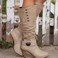 These Boots Were Made for Walkin Beige