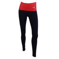 New England Patriots Sublime Fold Over Leggings