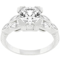 Bella Engagement Ring, size : 10