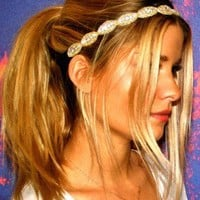 Gold Head Bands - Charlotte | UsTrendy