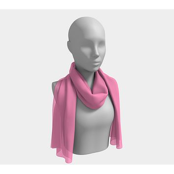 Solid Long Scarf - Light Pink
