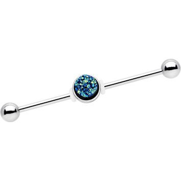 Blue Gem Rugged Rock Industrial Barbell 38mm