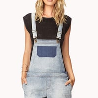 Life In Progress™ Overall Shorts