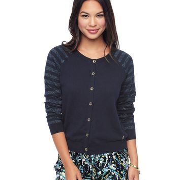 Regent Stripe Regent Stripe Cardigan by Juicy Couture,