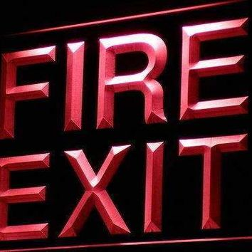 Fire Exit Neon Sign (LED)