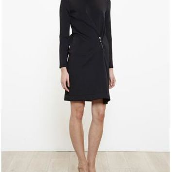 BALENCIAGA | Wrap Pin Dress | brownsfashion.com | The Finest Edit of Luxury Fashion | Clothes, Shoes, Bags and Accessories for Men & Women