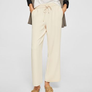 Jogging trousers - Women | MANGO USA