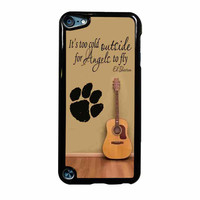 Ed Sheeran Guitar And Song Quotes iPod Touch 5th Generation Case