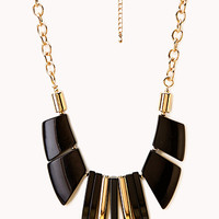 FOREVER 21 Posh Chunky Bib Necklace