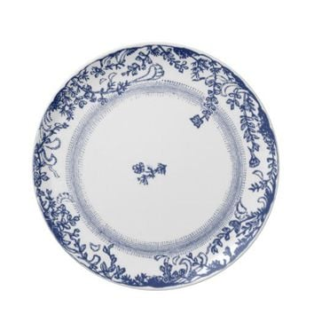 pretty vintage antique delft plate blue from Zazzle.com