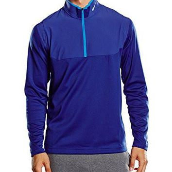 Nike Golf Dri-FIT 1/2-Zip Top DEEP ROYAL BLUE/DEEP ROYAL BLUE/PHOTO BLUE/WOLF GREY S