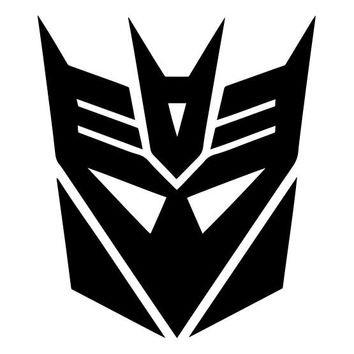 Transformers Decepticon Megatron Logo Vinyl Decal Sticker Car Truck Window Wall
