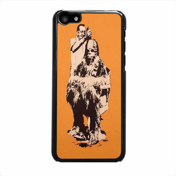 star wars chewbacca iphone 5c 5 5s 4 4s 6 6s plus cases