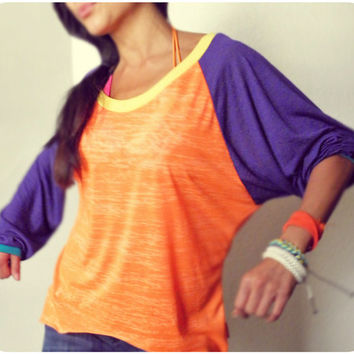 Dance Burn Out Raglan Sports Tunic