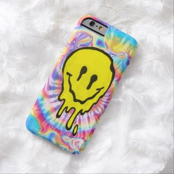 Trippy Melting Smiley Face Tie Dye iPhone 6 Case