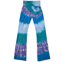 Aquamarine Tie Dye Yoga Pants on Sale for $32.00 at HippieShop.com