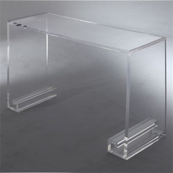 Grace Lucite Console Table - Large 60