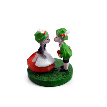 German Couple Miniature 1.5 Inches