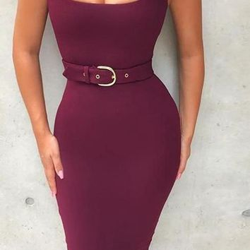 Mabel- Bodycon Bandage Dress