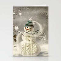 Christmas Time Stationery Cards by Texnotropio