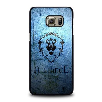 world of warcraft alliance wow samsung galaxy s6 edge plus case cover  number 1