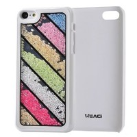 Meaci Apple Iphone 5c Case Glitter Bling Neon Rhinestone Series Protective Case -Geometry (Xix)