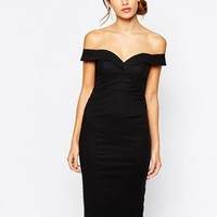 Bardot Sweetheart Off Shoulder Dress