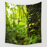 Trunk of the Jungle Wall Tapestry by Nicklas Gustafsson
