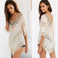 HOT! Summer Sexy Bikini Beach Cover Up