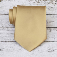 Honey Gold Necktie