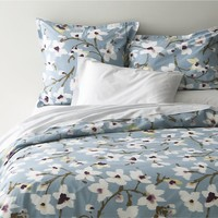 Fleur Bed Linens in All Decorative Bedding   Crate and Barrel