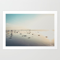 San Diego Scripps Beach Art Print by SoCal Chic Photography